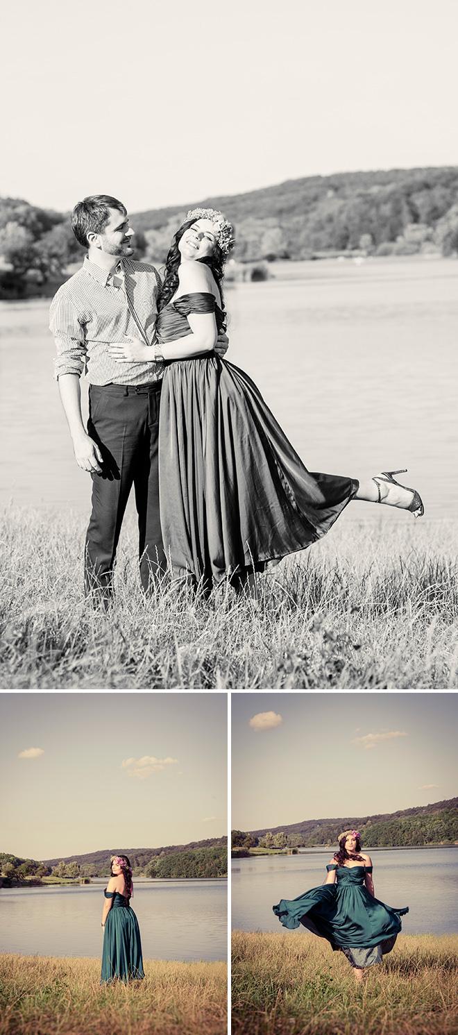 vintage esküvő