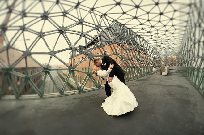Zsolnay híd esküvő