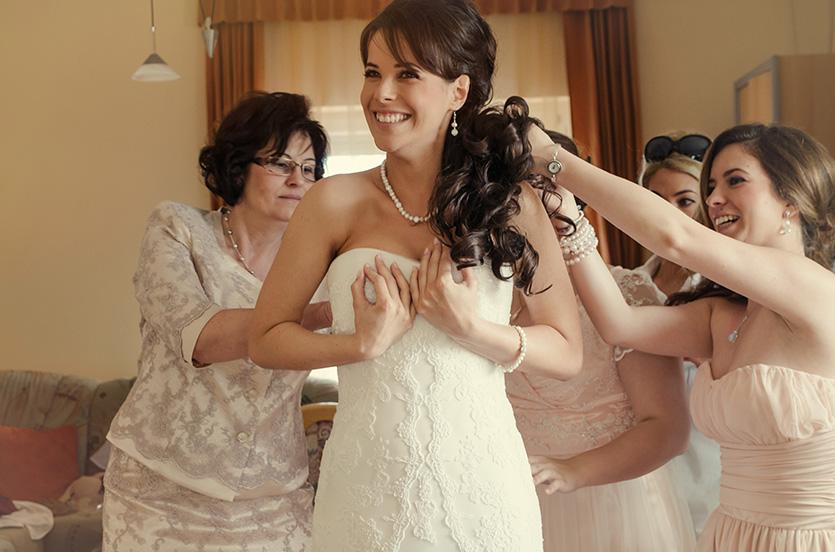 esküvő készülődés