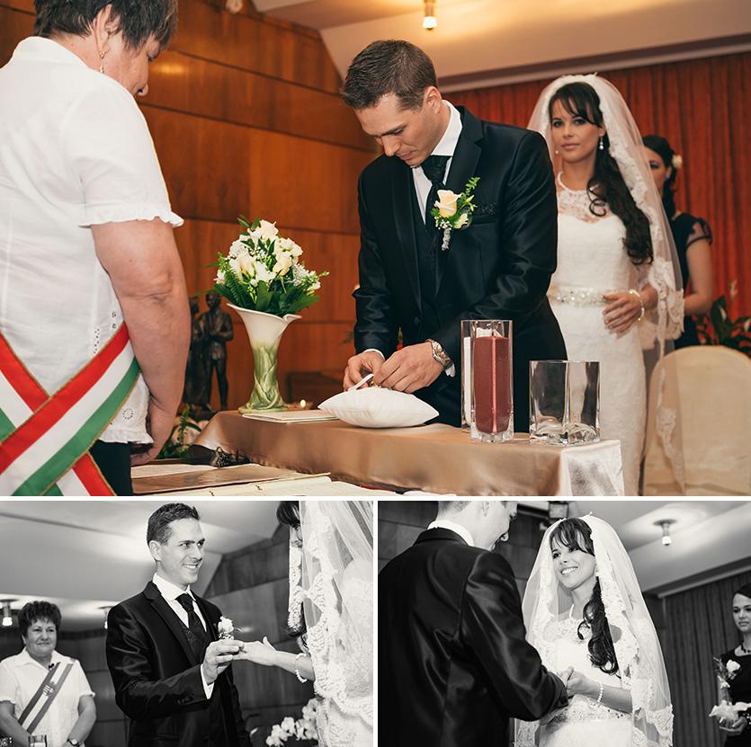 hivatali esküvő