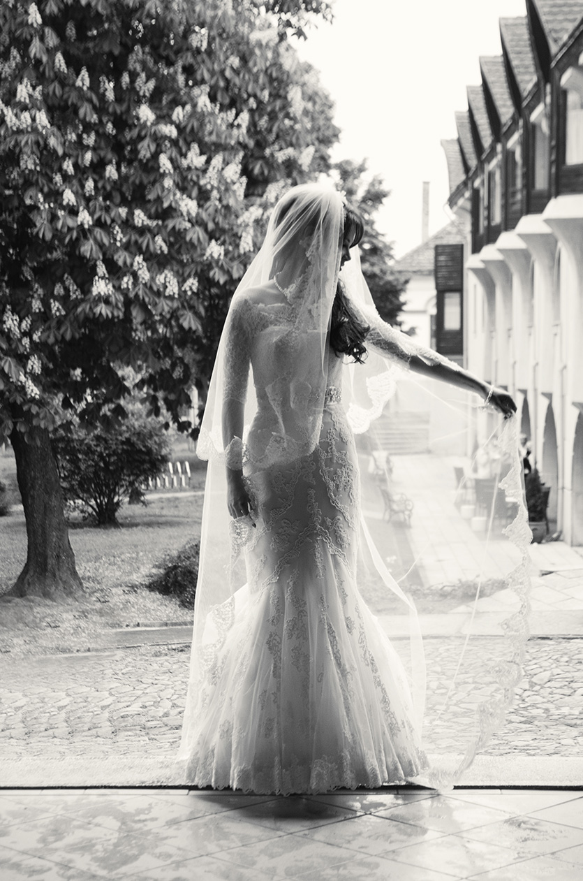 egyedi esküvői fotó