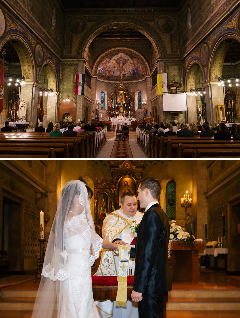 Paks templomi esküvő
