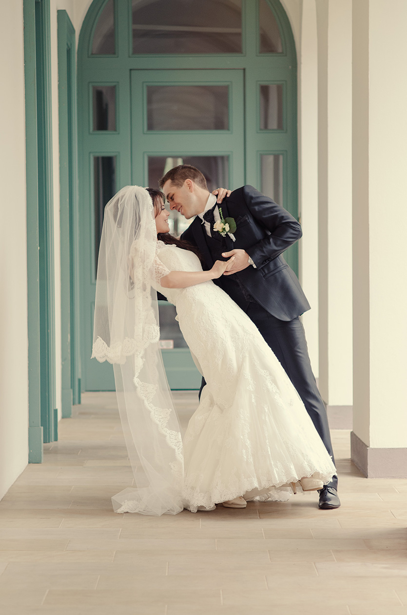 kreatív menyasszonyi tánc fotó