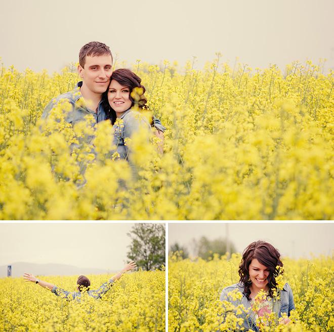 esküvői fotózás a természetben