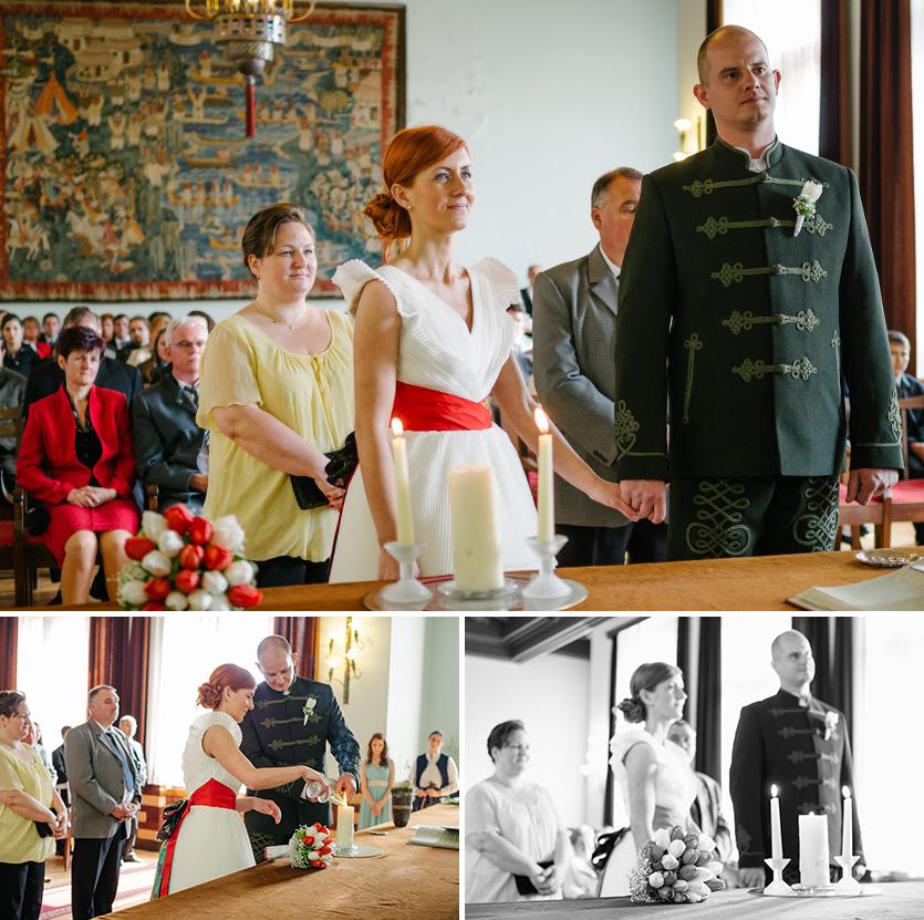 polgári esküvő fotózása Mohácson