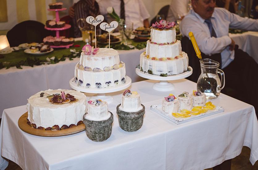 esküvői torta Mohács