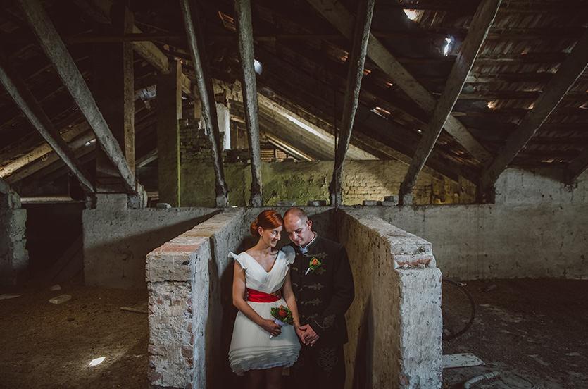 vintage hangulatos esküvő