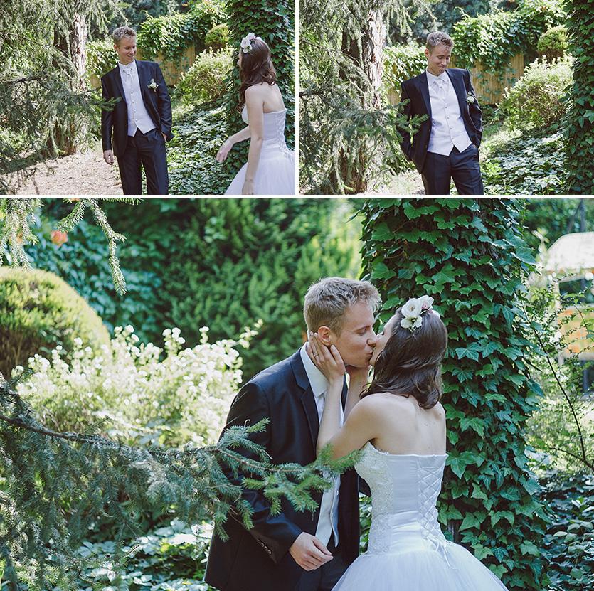 esküvői első pillanat fotó