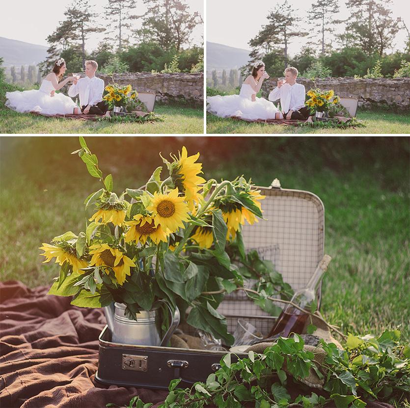 vintage Hochzeitsfotografen