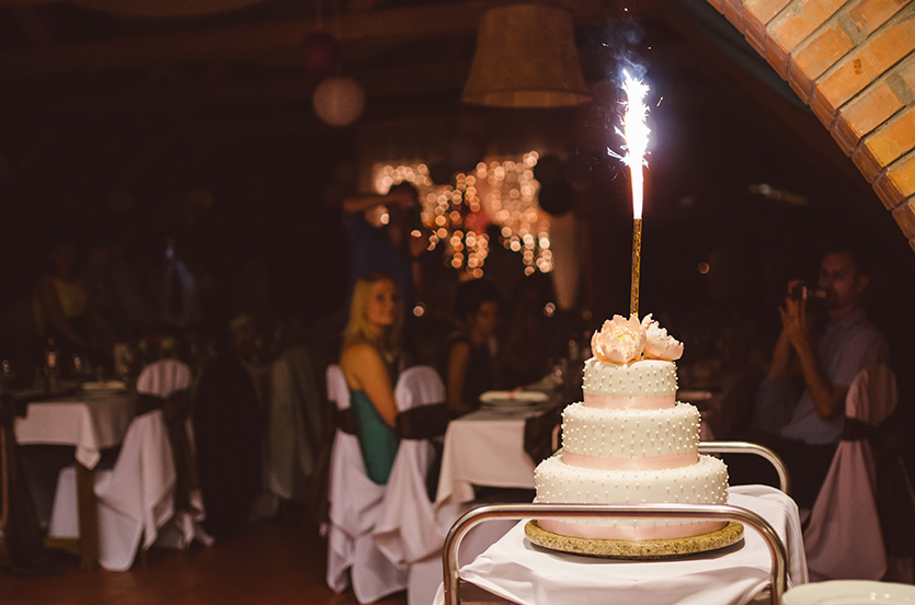 esküvői torta fotózás