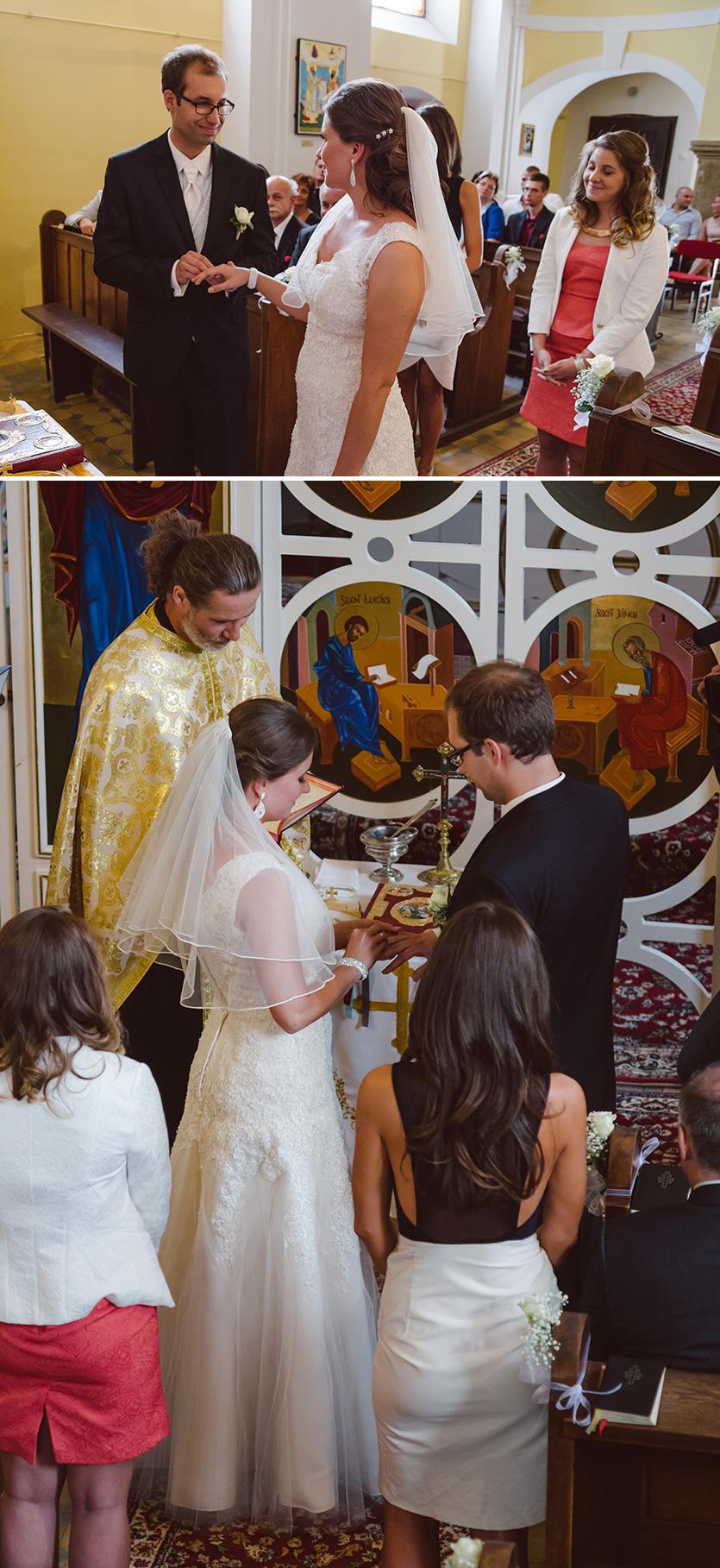 esküvői fotózás a Xavér templomban pécs