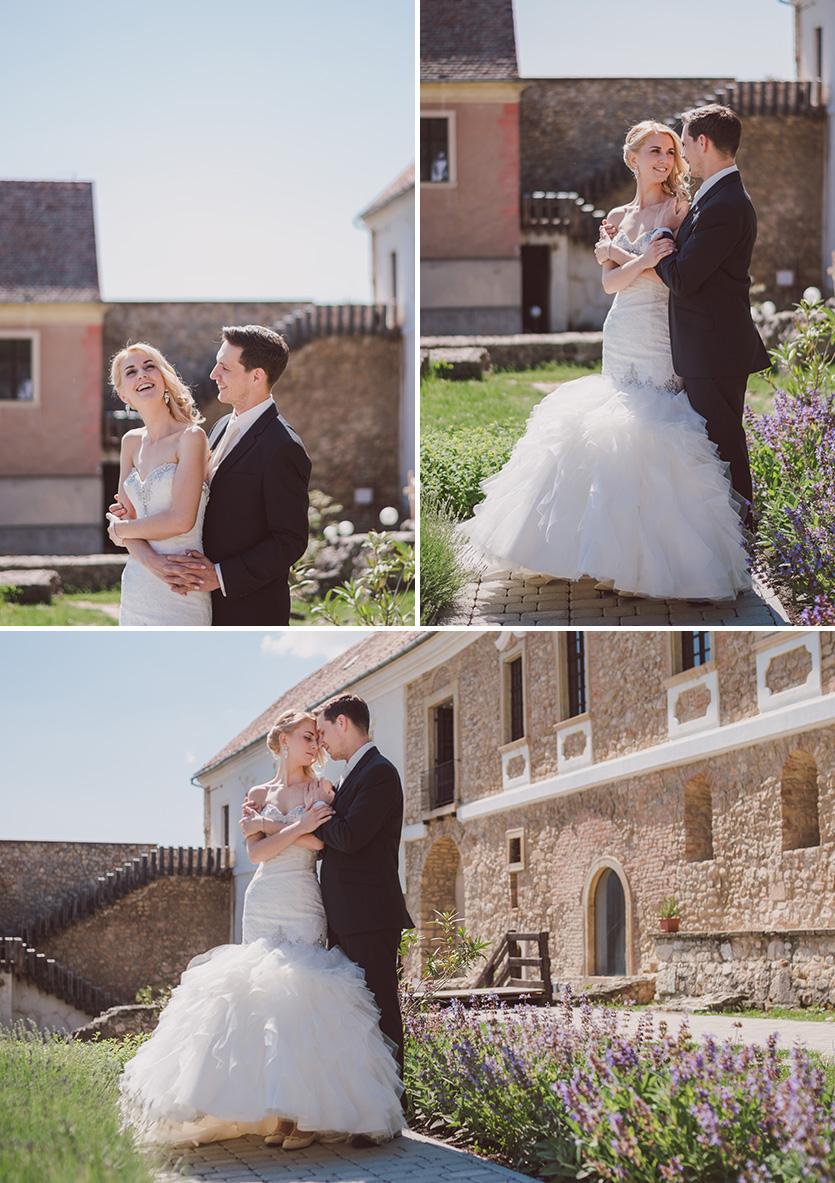 esküvői fotózás várban pécsvárad
