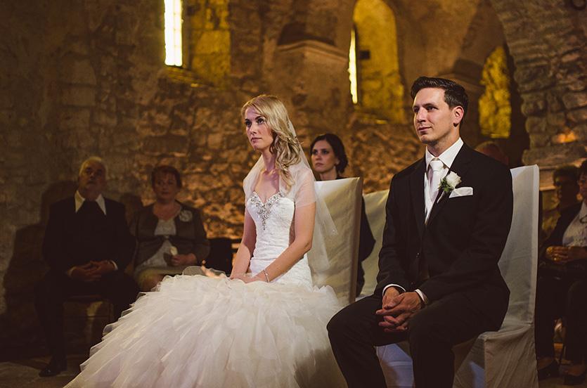 esküvői szertartás pécsváradi várkápolna
