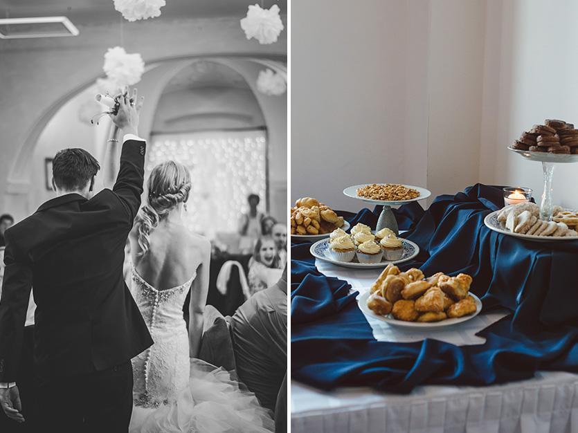 esküvői desszert fotó