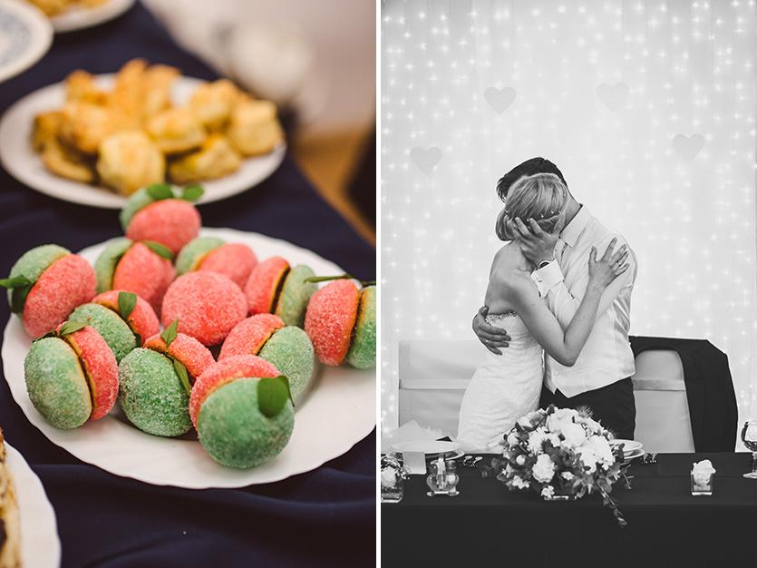 esküvői desszert fotózás