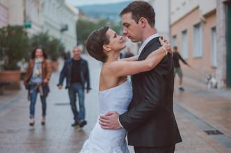 Esküvői fotók Pécsen