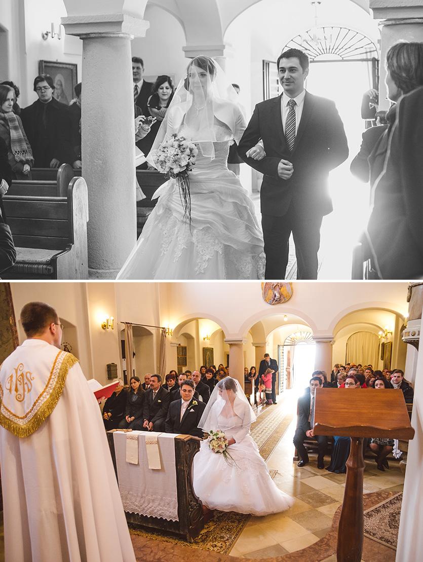 havihegyi templom esküvői fotó