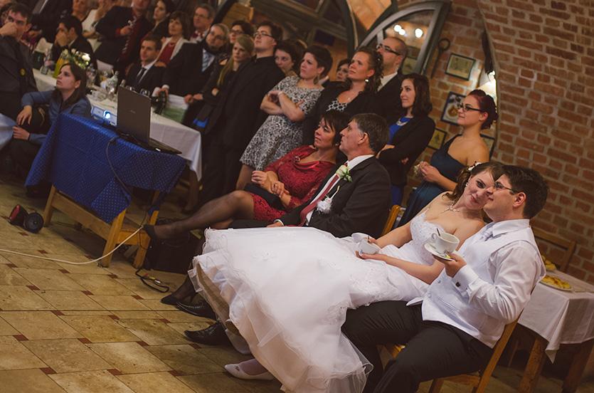 esküvői vetítés