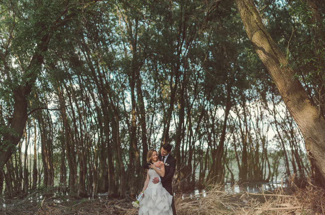 duna parti esküvői fotózás