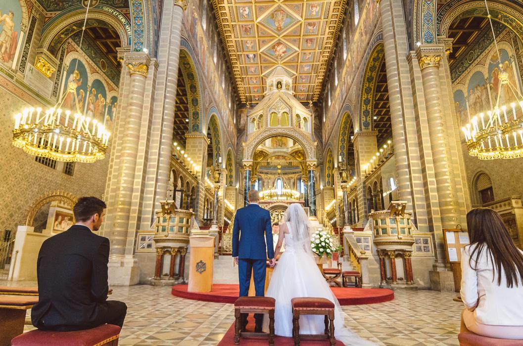 Esküvő a Székesegyházban