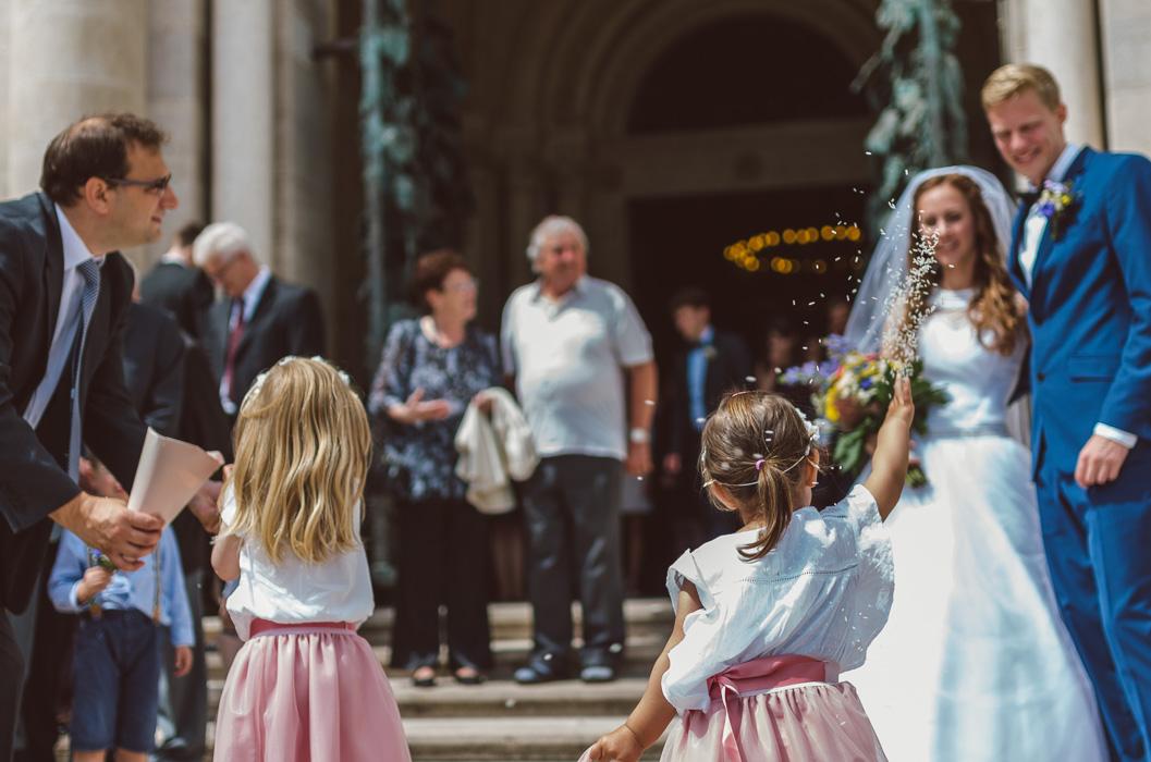 Gyerekek esküvői fotózás