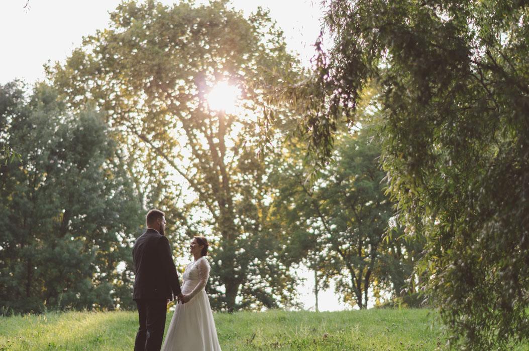 esküvő Duna-parton