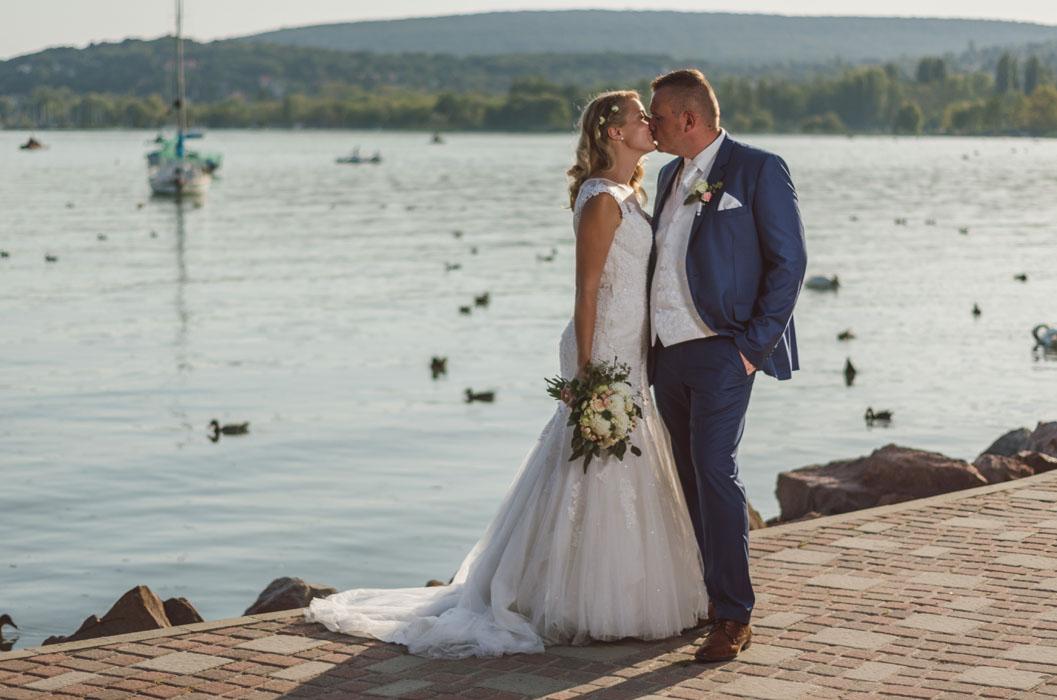 esküvői fotósok Balaton környékén 2