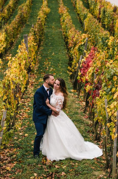 őszi esküvő Takler Haru Fotó