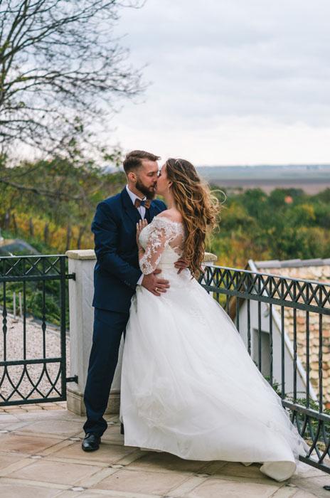 őszi esküvő Takler