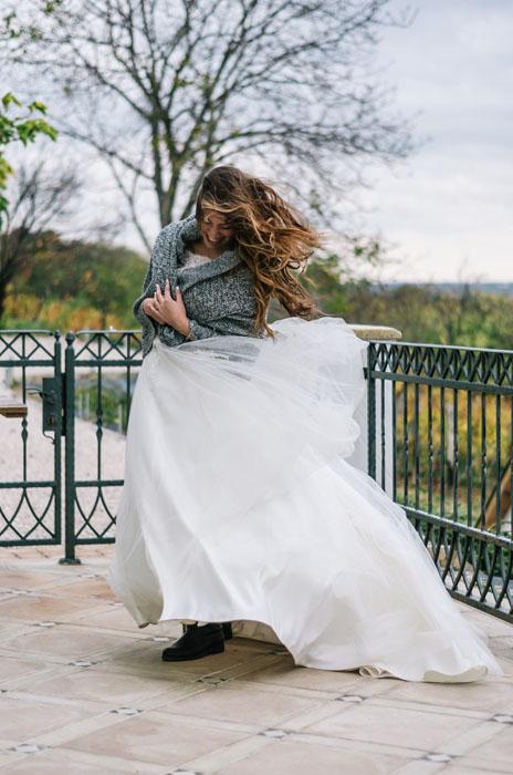 menyasszonyi ruha Haru Fotó