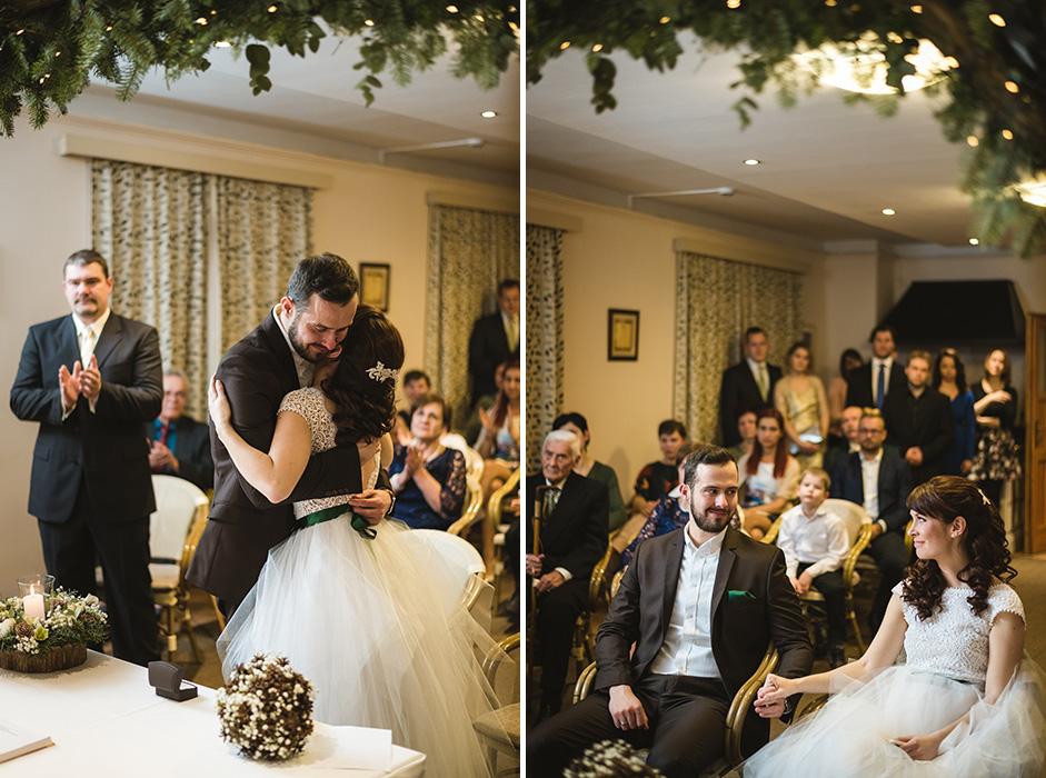 téli esküvői fotós haru fotó