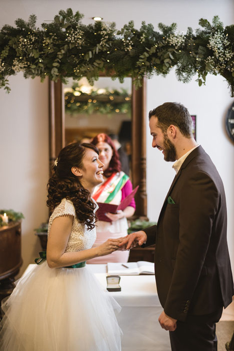 téli esküvő haru fotó