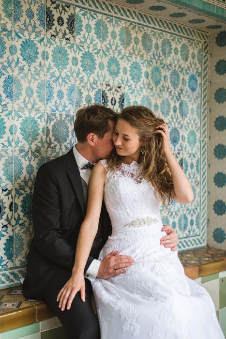 wedding zsolnay