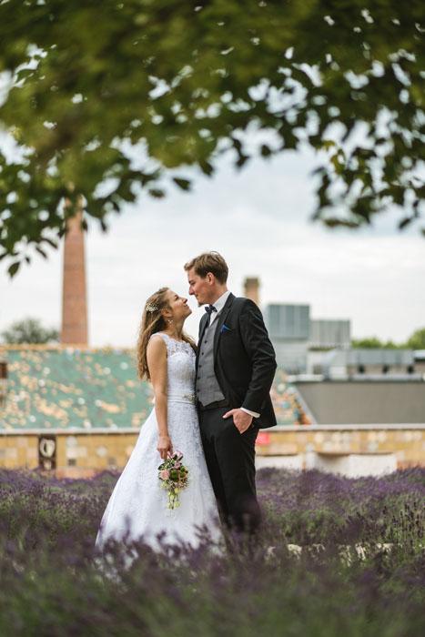 esküvői fotó levendula