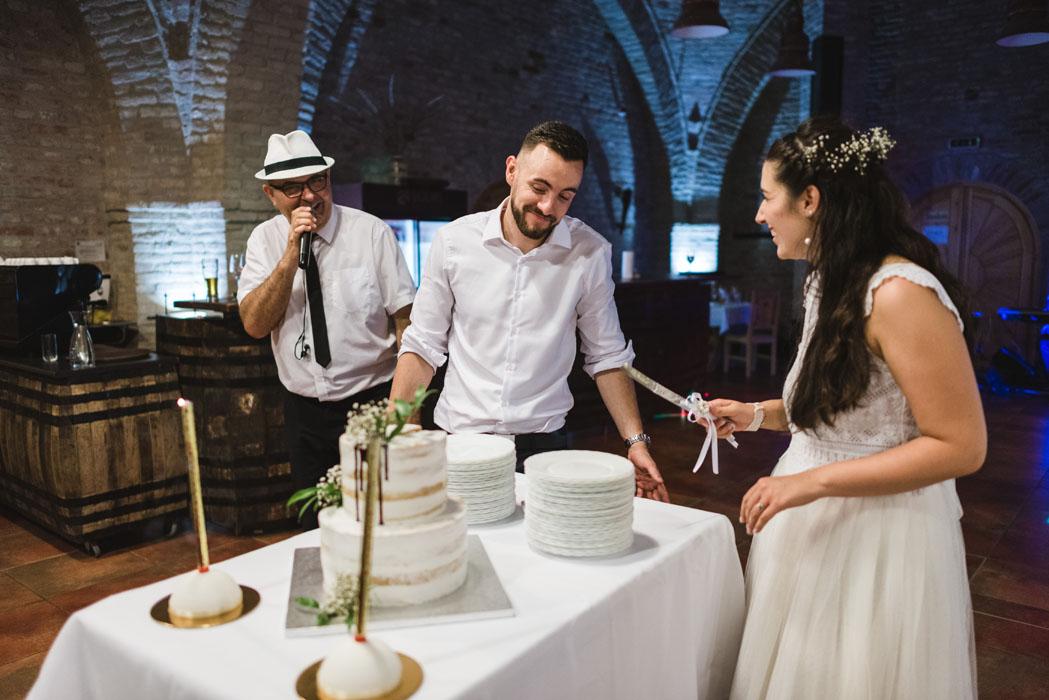 Buzás Ági esküvői torta Haru Fotó