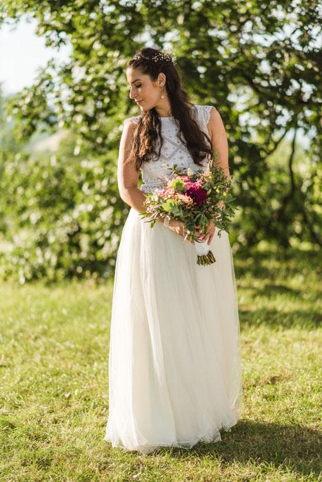 egyedi esküvői ruhák Pálfy Bíbor