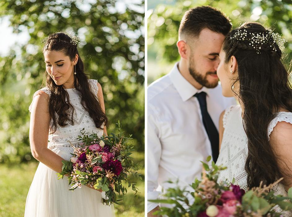 egyedi esküvői ruha Pálfy Bíbor