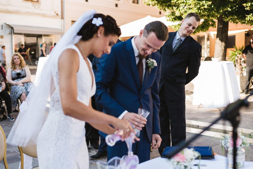 esküvő Pécs Jókai tér