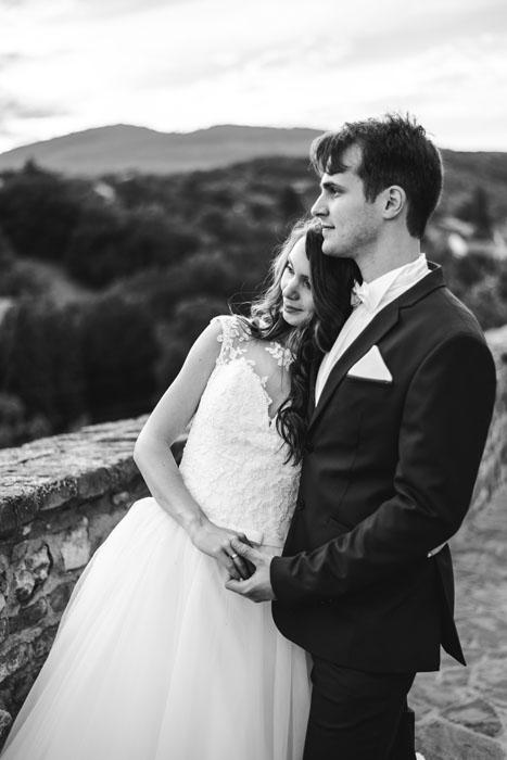 romantikus esküvői fotózás pécs környékén