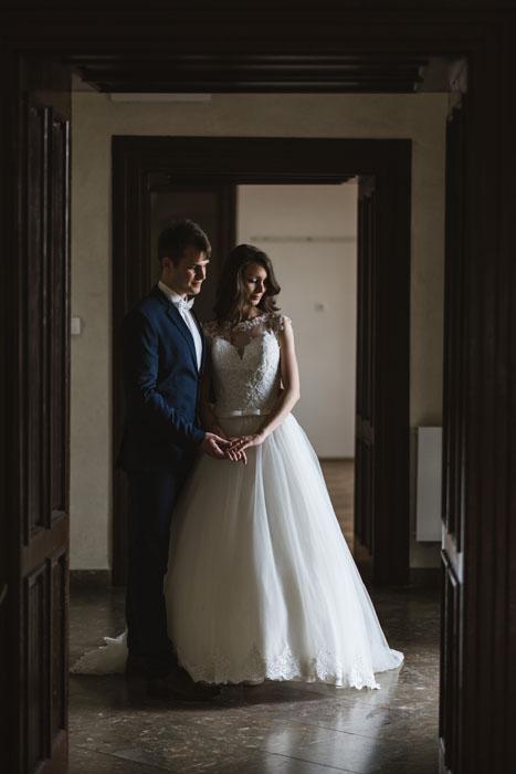 művészi esküvői fotó