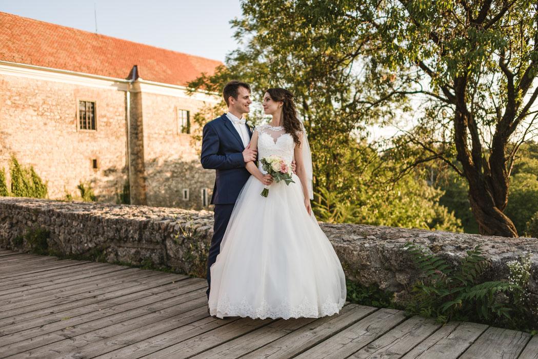 Pécsváradon esküvői fotózás