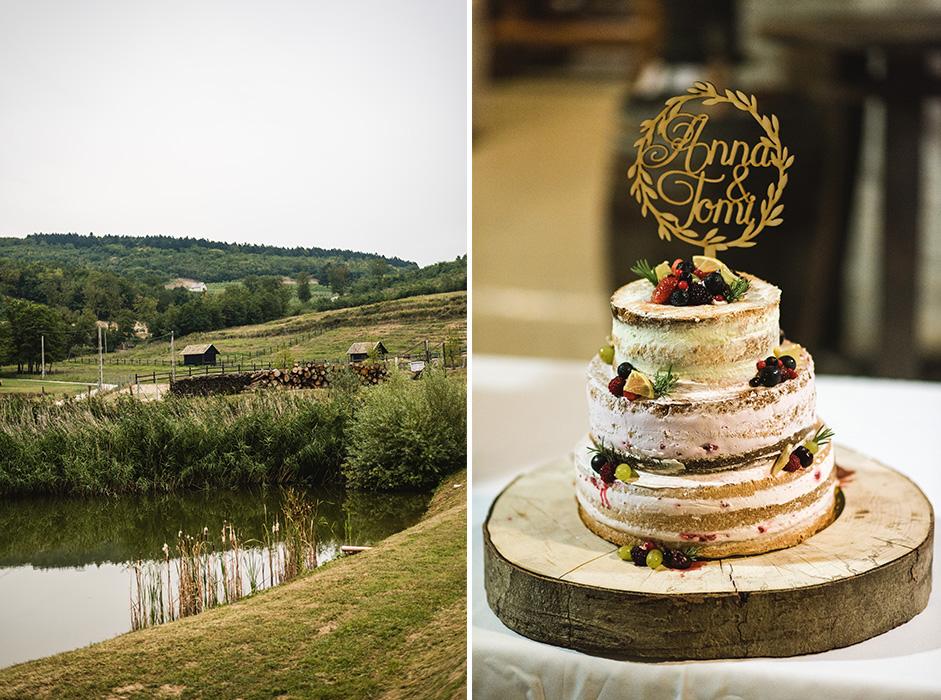 Kulcsár Péter esküvői torta