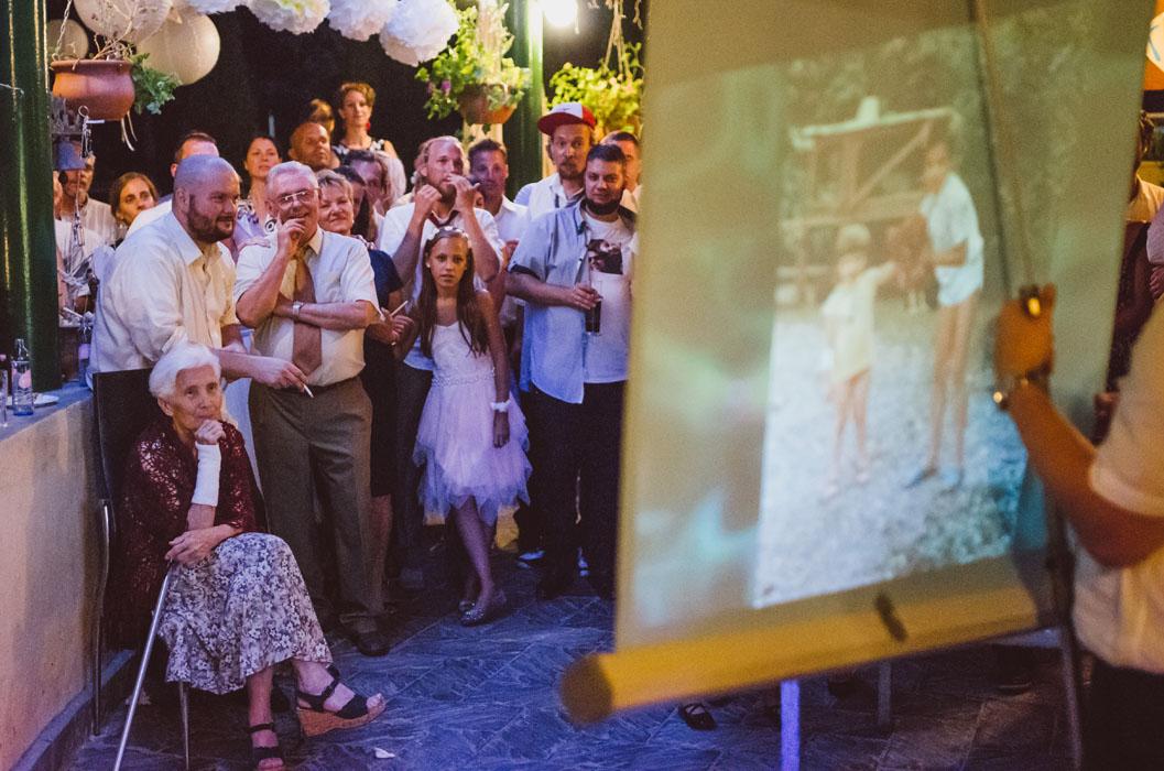 esti hangulat esküvőn